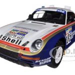 1986 Porsche 959/50 #185 Dakar Rally Raid/Ickx/Brasseur 2nd Place 1/18 by True Scale Miniatures
