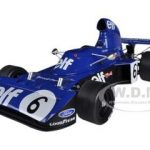 1973 Tyrrell 006 #6 Germany GP Francois Cevert 1/18 Diecast Car Model by True Scale Miniatures