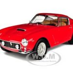 1961 Ferrari 250 GT Passo CortoSWB Elite Edition Red 1/18 Diecast Model Car by Hotwheels