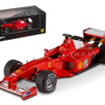Ferrari F1-2000 Michael Schumacher Japan GP 2000 Elite Edition 1/43 Diecast Model Car by Hotwheels