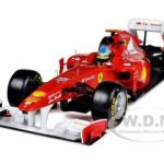 Ferrari 150 Italia F2011 Fernando Alonso 1/18 Diecast Car Model by Hotwheels
