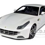 Ferrari FF V12 4 Seater Pearl White Elite Edition 1/18 Diecast Car Model by Hotwheels