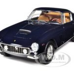 1961 Ferrari 250 GT Berlinetta Passo Corto SWB Blue Elite Edition 1/18 by Hotwheels