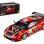 Ferrari F430 GT3 #57 Italian GT3 2009 Championship Winner Elite Edition 1/43 Diecast Model Car by Hotwheels