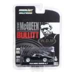 1968 Dodge Charger R/T Bullitt Steve McQueen (1968) 1/64 Diecast Model Car by Greenlight