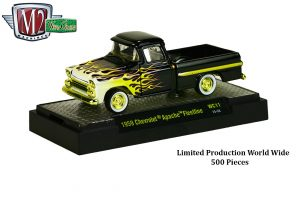 Wild_Cards_Release_WC11_CHASE_TRUCK_1959_Chevrolet_Apache_Fleetline_Semi_Gloss_Black_with_Flames_and_Gold_Triming_Limited_Production_Wor__66257