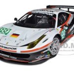 Ferrari 458 Italia GT2 24 Hours Of Le Mans #89 Elite Edition 1/18 Diecast Model Car by Hotwheels