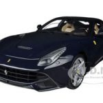 Ferrari F12 Berlinetta Elite Edition Blue 1/18 Diecast Car Model by Hotwheels
