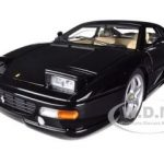 Ferrari F355 Berlinetta Elite Black 1/18 Diecast Car Model by Hotwheels
