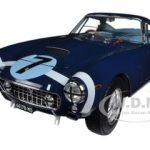 1961 Ferrari 250 GT Berlinetta Passo Corto SWB Goodwood Tourist Trophy #7 Blue Elite Edition 1/18 Diecast Model Car by Hotwheels