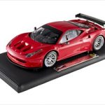 Super Elite Ferrari 458 Italia GT2 Launch Version Red 1/18 Diecast Model Car by Hotwheels