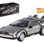 Delorean DMC-12 Back To The Future Time Machine Cult Classics 1/43 Diecast Model Car by Hotwheels