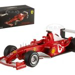 Ferrari F2003 Michael Schumacher Italy GP 2003 Elite Edition 1/43 Diecast Model Car by Hotwheels