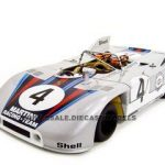 Porsche 908/03 #4 1971 Marko/Van Lennep 1/18 Diecast Model Car by Autoart