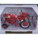 International Harvest Farmall Cub with Cultivator 1/16 Diecast Model by Speccast