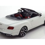 Bentley Continental GT V8 S Convertible Cabriolet White Limited Edition to 504pcs 1/18 Model Car by GT Spirit