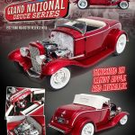 1932 Ford Grand National Deuce Series #5 Candy Red Metallic Limited Edition to 948pcs 1/18 Diecast Model Car by Acme