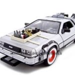 Delorean From Movie Back To The Future 3 1/24 Diecast Car by Welly