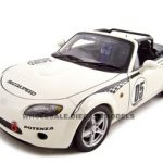 Mazda Roadster (NC) NR-A #05  White 1/18 Diecast Model Car by Autoart