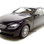 Mercedes CL Car Black 1/18 Diecast Model Car by Autoart