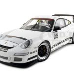 Porsche 911 997 GT3 2008 #08 Promo Car 1/18 Diecast Model Car by Autoart