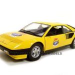 Ferrari Mondial 8 Yellow 60 Anniversary Edition 1/18 Diecast Mode Car by Hotwheels