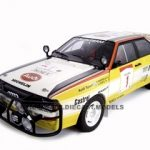 1984 Audi Quattro #1 Rally Safari 1/18 Diecast Model Car by Autoart