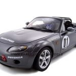 Mazda Roadster NC NR-A #1 Gray 1/18 Diecast Model Car by Autoart