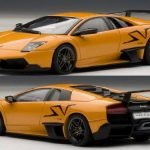 Lamborghini Murcielago LP670-4 SV Arancio Atlas/Orange 1/43 Diecast Model Car by Autoart