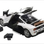Mclaren F1 Pure White 1/43 Diecast Car Model by Autoart