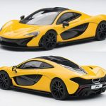 Mclaren P1 Volcano Yellow 1/43 Diecast Car Model by Autoart