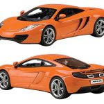 Mclaren MP4-12C Metallic Orange 1/43 Diecast Car Model by Autoart
