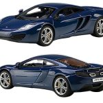 Mclaren MP4-12C Azure Blue 1/43 Diecast Car Model by Autoart