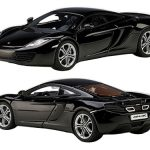 Mclaren MP4-12C Sapphire Black 1/43 Diecast Car Model by Autoart