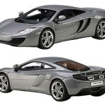 Mclaren MP4-12C Ice Silver 1/43 Diecast Car Model by Autoart