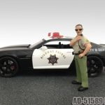 Brad Sheriff Figure For 1:18 Diecast Model Cars by American Diorama