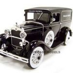 1931 Ford Panel Police Wagon 1/18 Diecast Model Car by Signature Models