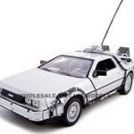Delorean From Movie Back To The Future 1 1/24 Diecast Model Car by Welly