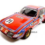 1974 Ferrari 365 GTB4 #71 1/18 Diecast Model Car by Kyosho
