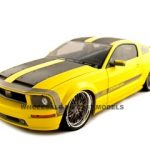 Ford Mustang Cesam Parotech Yellow 1/18 Diecast Car Model by Norev