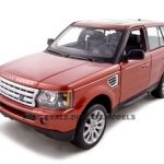 Range Rover Sport Metallic Red 1/18 Diecast Model Car by Maisto