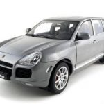 Porsche Cayenne Turbo  Grey  1/18 Diecast Model Car by Autoart