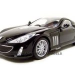 Peugeot 907 V12  Black 1/18 Diecast Model Car by Bburago
