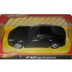 Ferrari F12 Berlinetta Black 1/43 Diecast Car Model by Hotwheels