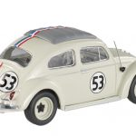 1962 Volkswagen Beetle The Love Bug Herbie #53 Elite Edition 1/43 Diecast Car Model by Hotwheels