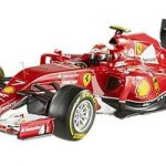 Elite Ferrari F1 F2014 Kimi Raikkonen 1/43 Diecast Car Model by Hotwheels