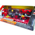 Ferrari Race And Play Racing Hauler Set 1/43 by Bburago