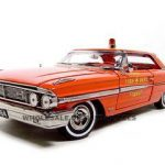 1964 Ford Galaxie 500 XL Carmel Fire Department 1/18 Diecast Model Car by Sunstar