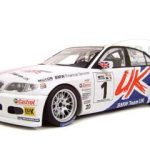 BMW 320i E46 2005 WTCC #1 A.Priaulks Uk  Diecast Model 1/18 Die Cast Car By Autoart