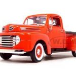 1948 Ford F1 Pickup Truck Red 1/18 Diecast Model Car by Road Signature